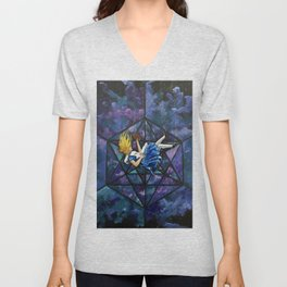 The Rabbit Hole Unisex V-Neck