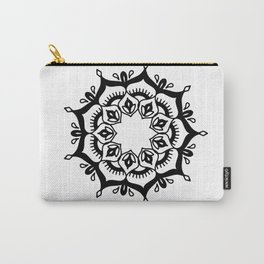 Mandala: hand-drawn Carry-All Pouch