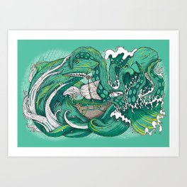Samudra Art Print