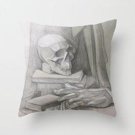 academic drawing Throw Pillow