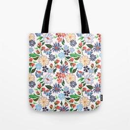 Springtime Floral Tote Bag