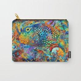Tropical Beach Art - Under The Sea - Sharon Cummings Carry-All Pouch