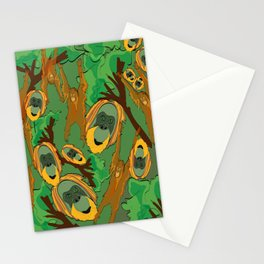 Save the orangutans Stationery Cards