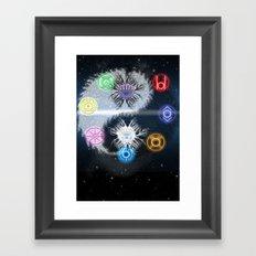 Lantern Corp - Life Giveth & Death Taketh Framed Art Print