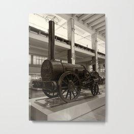 Stephenson's Rocket Metal Print