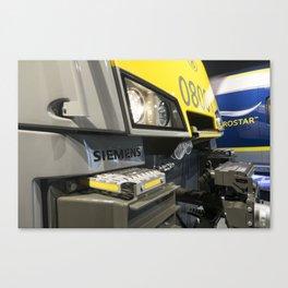Electric Profile Canvas Print