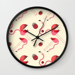 There are always coconuts for those who want to see them Wall Clock