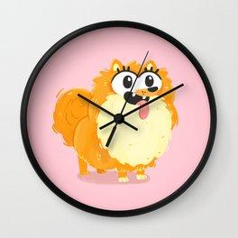 Pom Pom Love Wall Clock