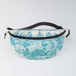 Blue Dream Catcher Fanny Pack