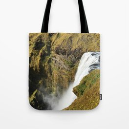 ICELAND, WATERFALL Tote Bag