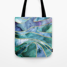 The Magnetic Tide Tote Bag