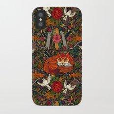 fox garden Slim Case iPhone X