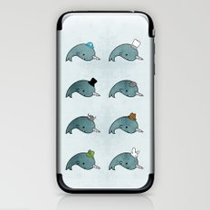 The many hats of Narwhals iPhone & iPod Skin