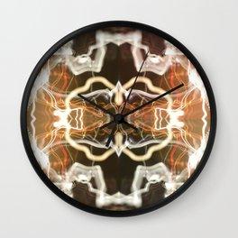 LED Lights Long Exposure Wall Clock