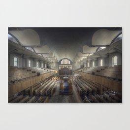 Abandoned synagogue  Canvas Print