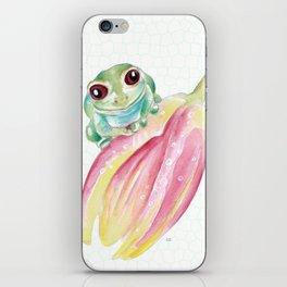 Cute Froggy iPhone Skin