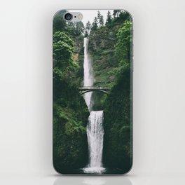 Multnomah Falls III iPhone Skin