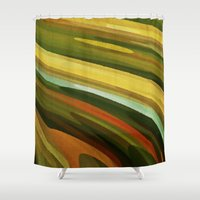 jungle Shower Curtains featuring Jungle by Losal Jsk