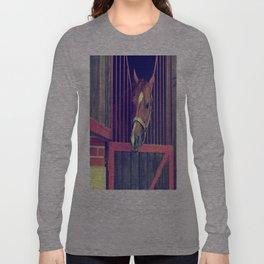 hello I'm horse :) Long Sleeve T-shirt