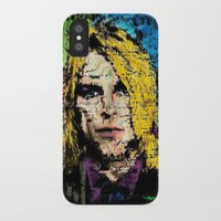 kurt cobain iPhone & iPod Cases featuring Nevermind Kurt  by brett66