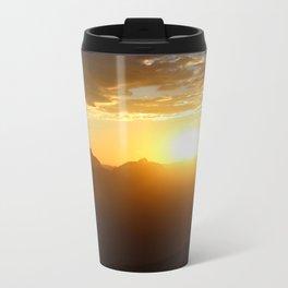 Canyon Dawn Metal Travel Mug