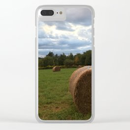 A bale of hay Clear iPhone Case