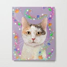 Hurricane Hattie Cat Metal Print