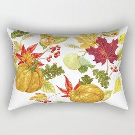 Autumn Heart Rectangular Pillow