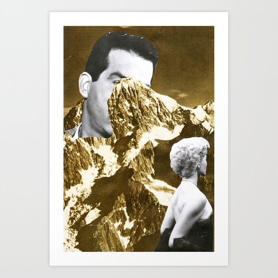 Stymie Bent Art Print