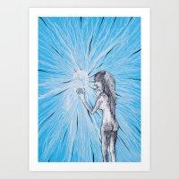 Barreras Art Print