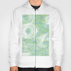 Peacock Feathers Doodle Hoody
