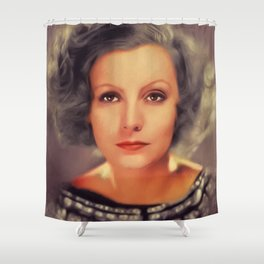 Greta Garo, Hollywood Legend Shower Curtain