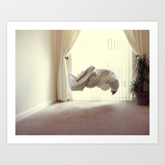 Exertion Art Print
