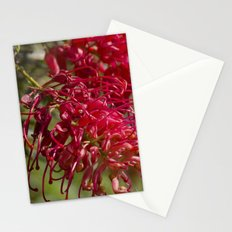 Flor roja Stationery Cards