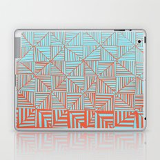 Red & Blue Pattern Laptop & iPad Skin