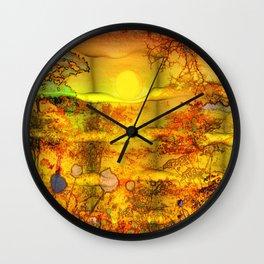 ABSTRACT - Abundance Wall Clock