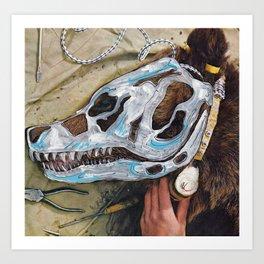 Bear Bones Art Print