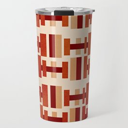 Modernist - Mid Century Modern Geometry Travel Mug