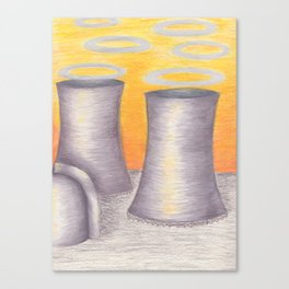 Cooling Towers Canvas Print