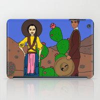 dessert iPad Cases featuring Dessert together by Ilse Nonsense