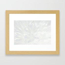 Shiny flower Framed Art Print