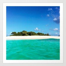 Island Getaway Art Print