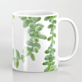 Hanging Succulents - Burro's Tail Succulents Coffee Mug