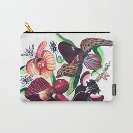 Orchid Cafe Carry-All Pouch