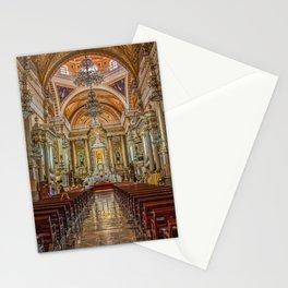 Guanajuato Basilica Inside Stationery Cards