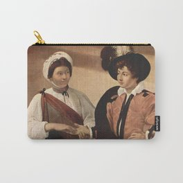 Michelangelo Caravaggio The Fortune Teller 1594 Carry-All Pouch