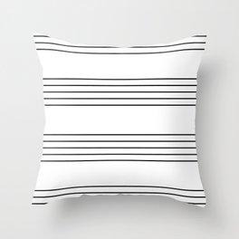 The Musician Throw Pillow