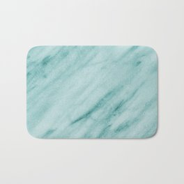 Teal Luxe Marble Bath Mat