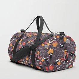 Enchanted Vintage Halloween Spell Duffle Bag
