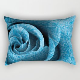 Arctic Rose Rectangular Pillow